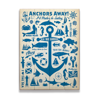 Anchors Away Sign