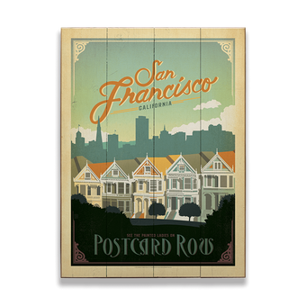 Postcard Row in San Francisco
