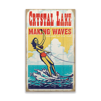 Making Waves Sign