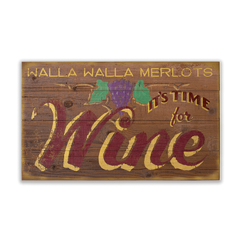 Time for Wine Sign