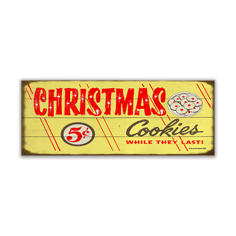 Christmas Cookies For Sale Sign