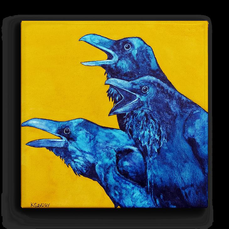 Αποτέλεσμα εικόνας για Yellow ravens