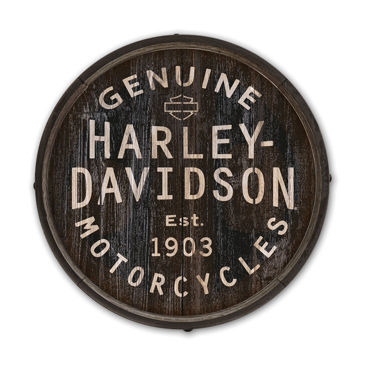 Harleydavidson Signs Vintage Retro Old Wood Stencil Barrel End Wooden Sign Printable