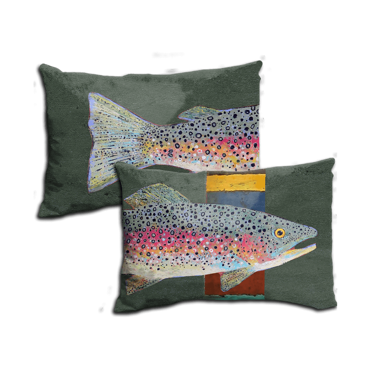 Rainbow Trout - Pillow - Rainbow Trout