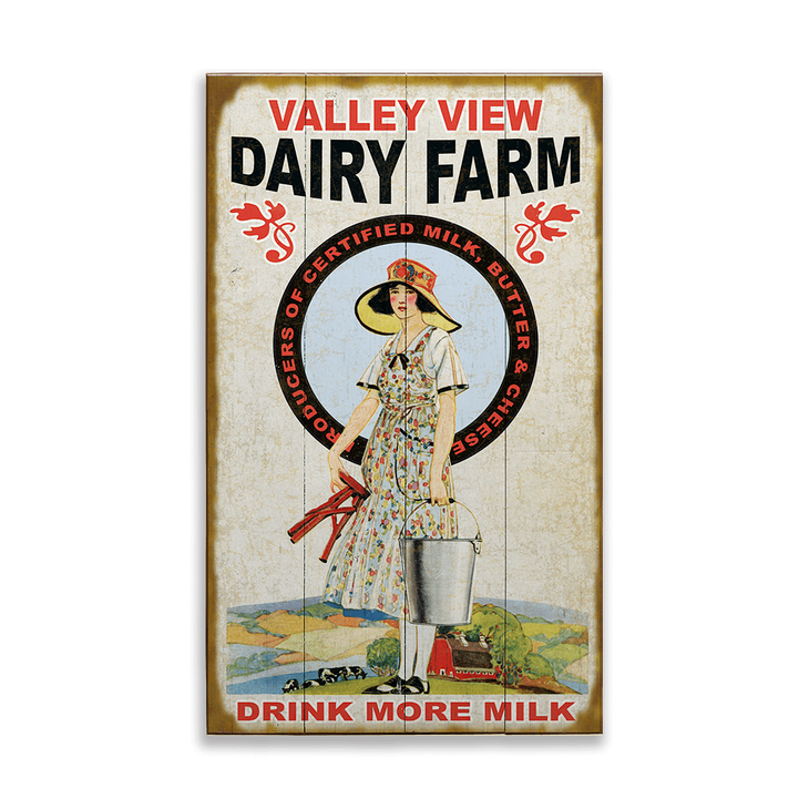 Dairy Farm Sign - Dairy Farm