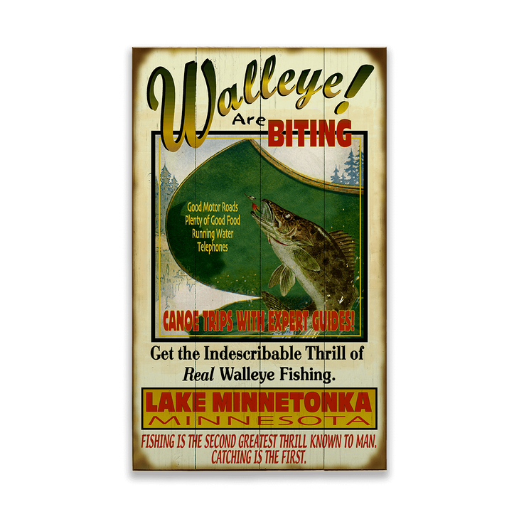 Walleye are biting - Walleye are Biting