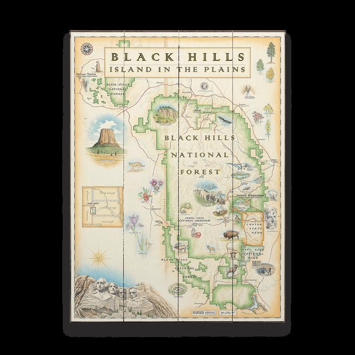 Black Hills National Forest Xplorer Map