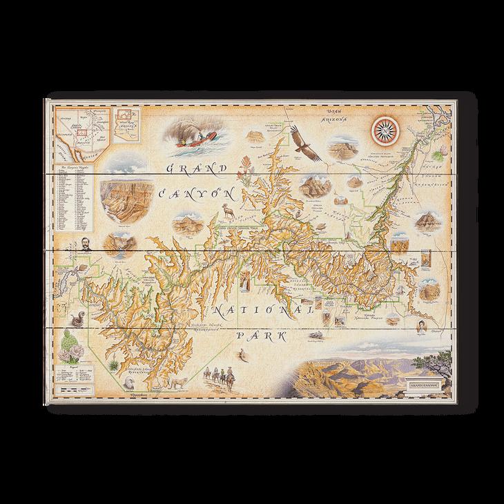 Grand Canyon Xplorer Map