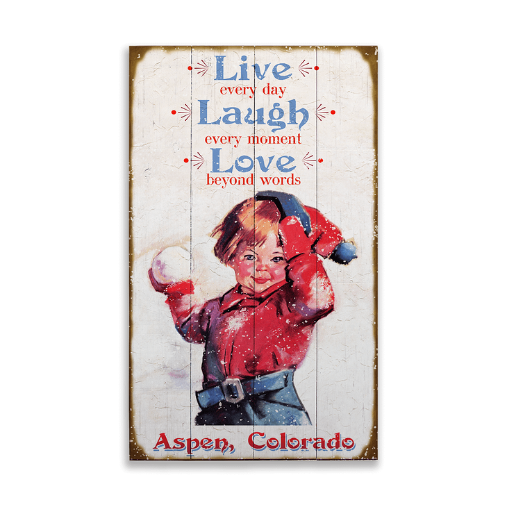 Live Laugh Love Sign Old Wood Signs